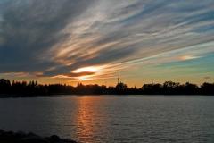 Windswept-sunset